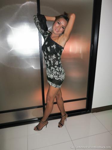 Sai - Miniskirt No Panty Gaping Bareback