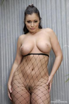 04-21 Black Tassels and Fishnets AriaGiovanni.com